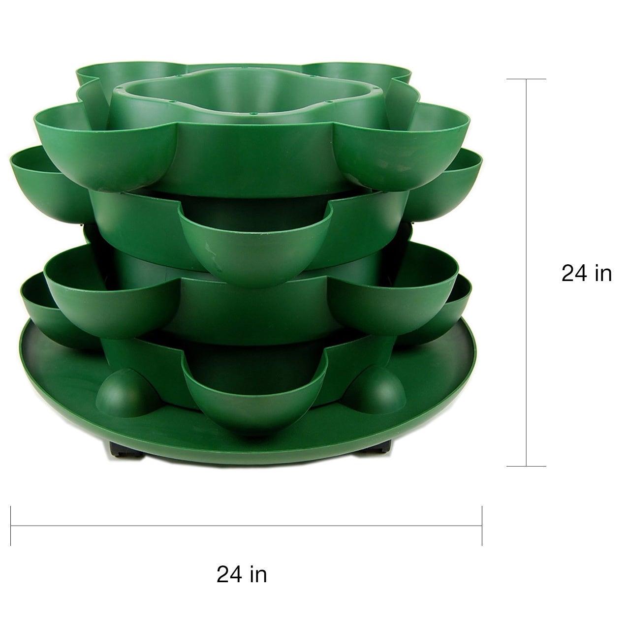 Shop Handy Pantry Stack Grow Stackable Terracotta Garden Planter