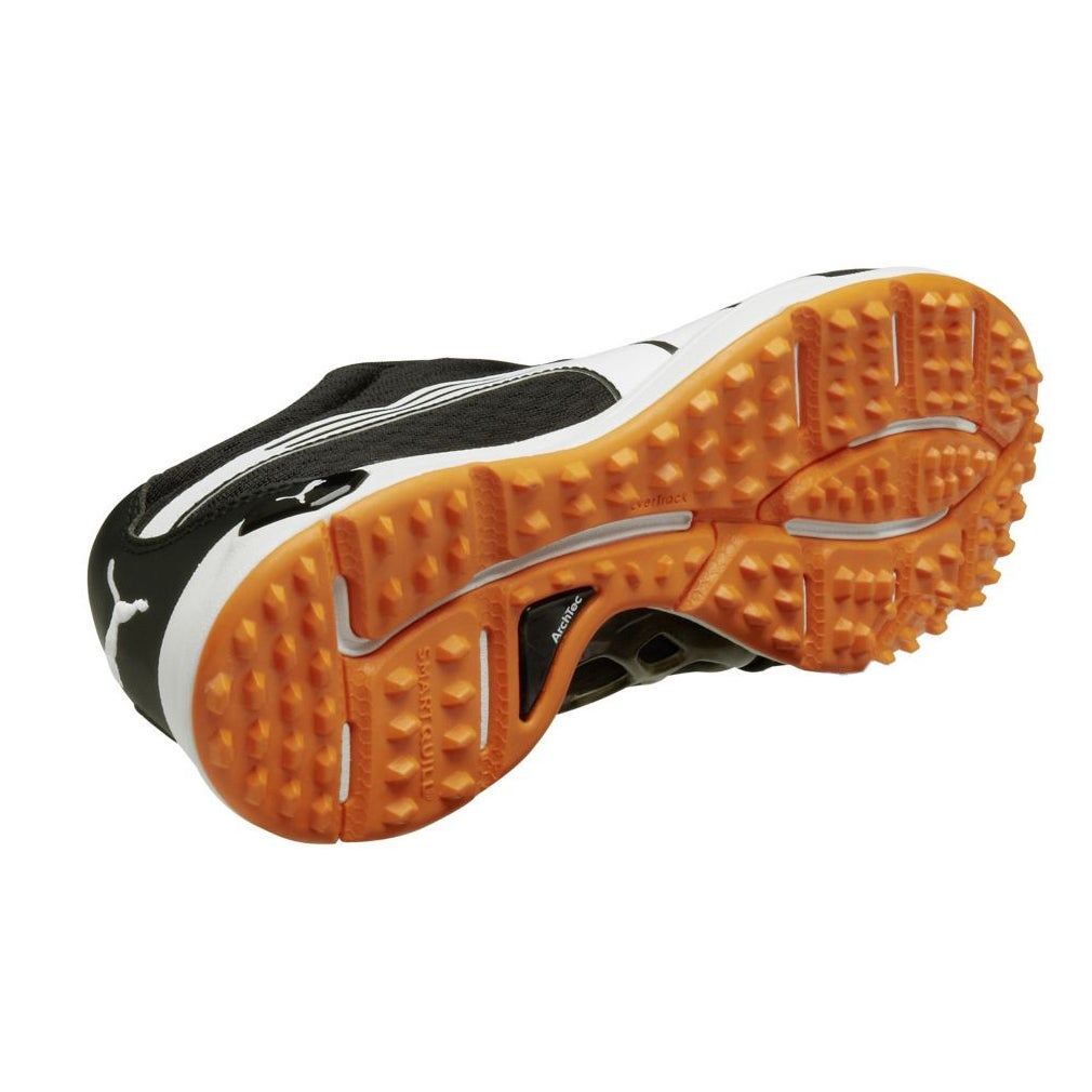 Shop PUMA Men s Black Orange White Biofusion Mesh Spikeless Golf Shoes -  Free Shipping Today - Overstock - 8874535 7217b2be9