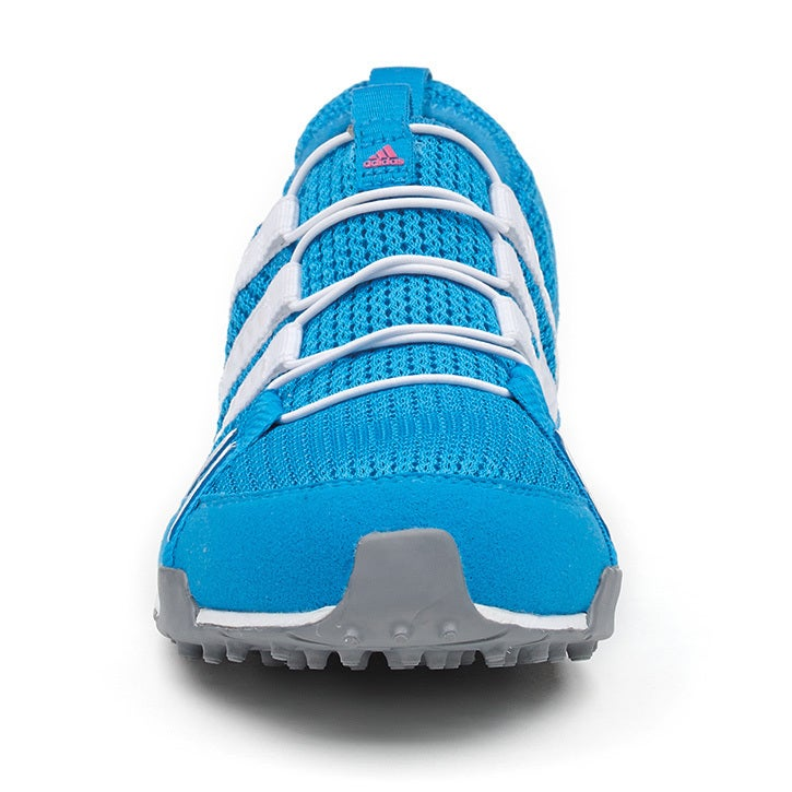 Adidas Womens Climacool Ballerina Spikeless Solar Blue White Golf Shoes