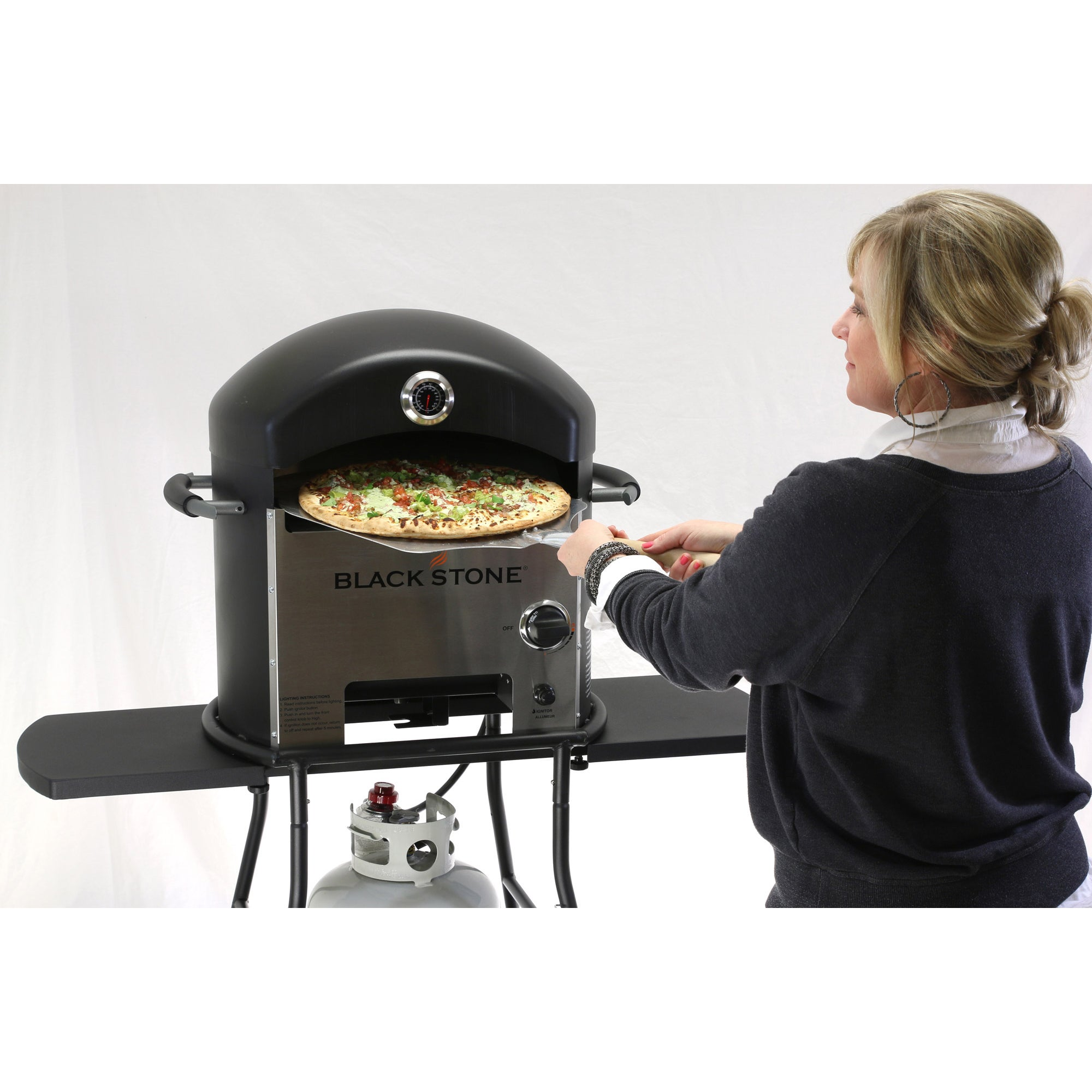 Blackstone 1575 Patio Pizza Oven   Free Shipping Today   Overstock    16099770