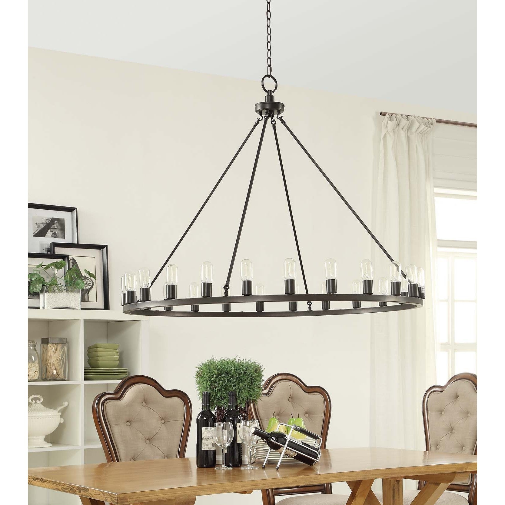 Hemsworth Oil Rubbed Bronze 24 light Chandelier Free Shipping