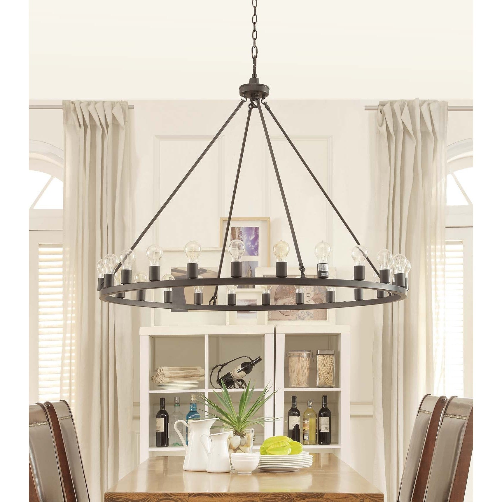 Liam Oil Rubbed Bronze 24 light Chandelier Free Shipping Today