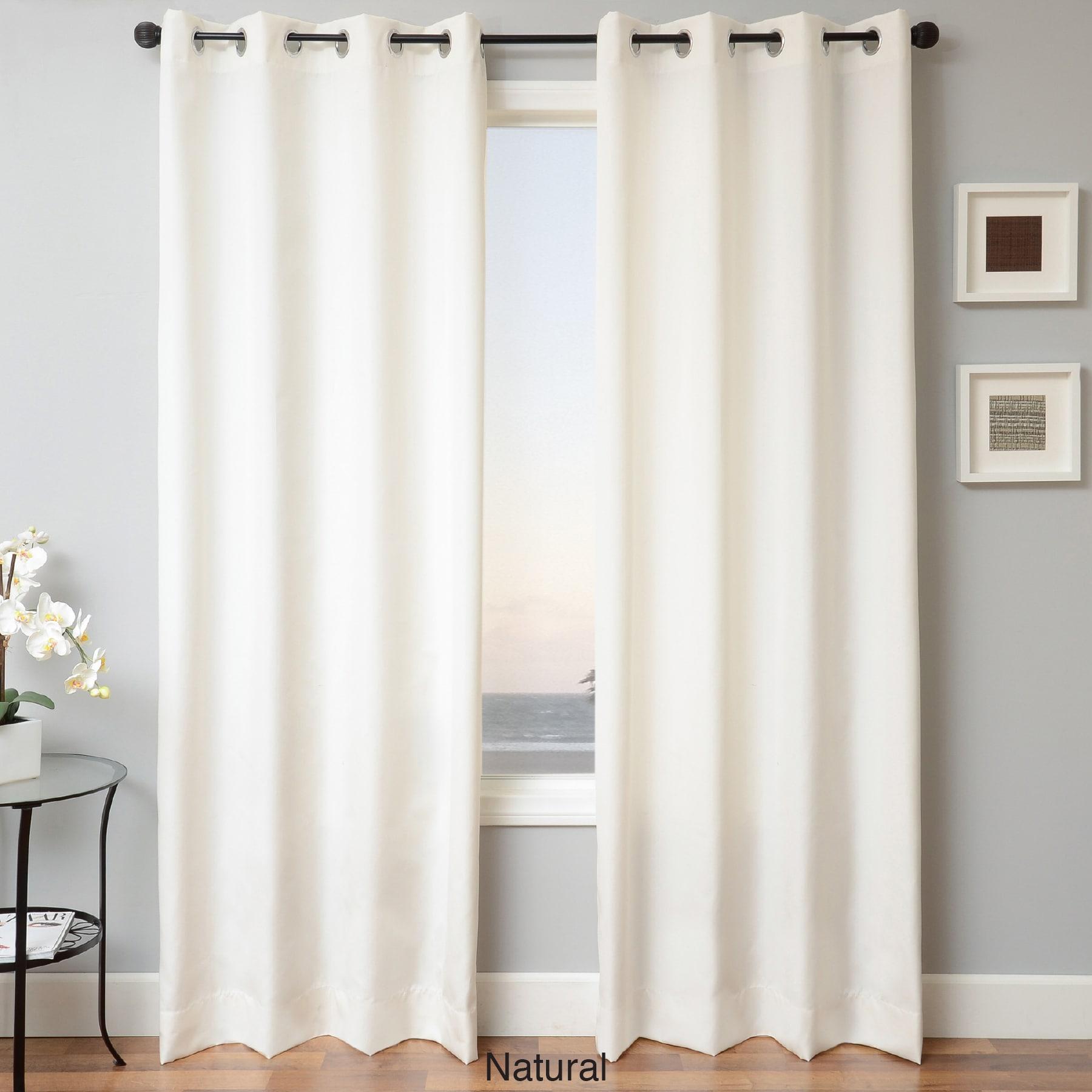 Softline Sunbrella Indoor/Outdoor Grommet Top Curtain Panel - Free Shipping  Today - Overstock.com - 16106828