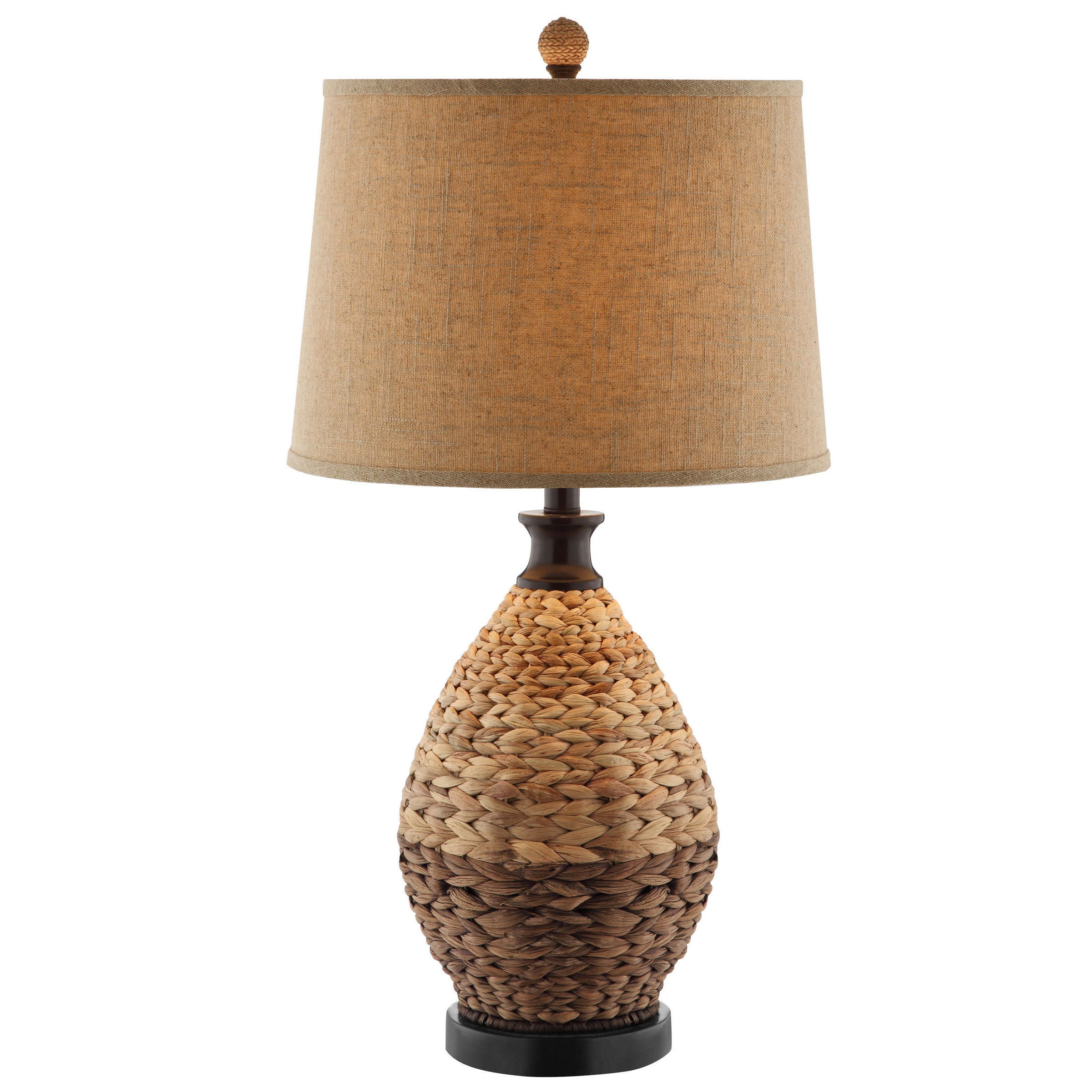 Weston 1 Light Two Tone Rattan Table Lamp On Free Shipping Today 8884066