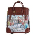 Nicole Lee Rolling Business Tote Special Bicylce Print Edition