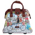 Nicole Lee Cheri Bicycle Rolling Business Special Print Edition Tote