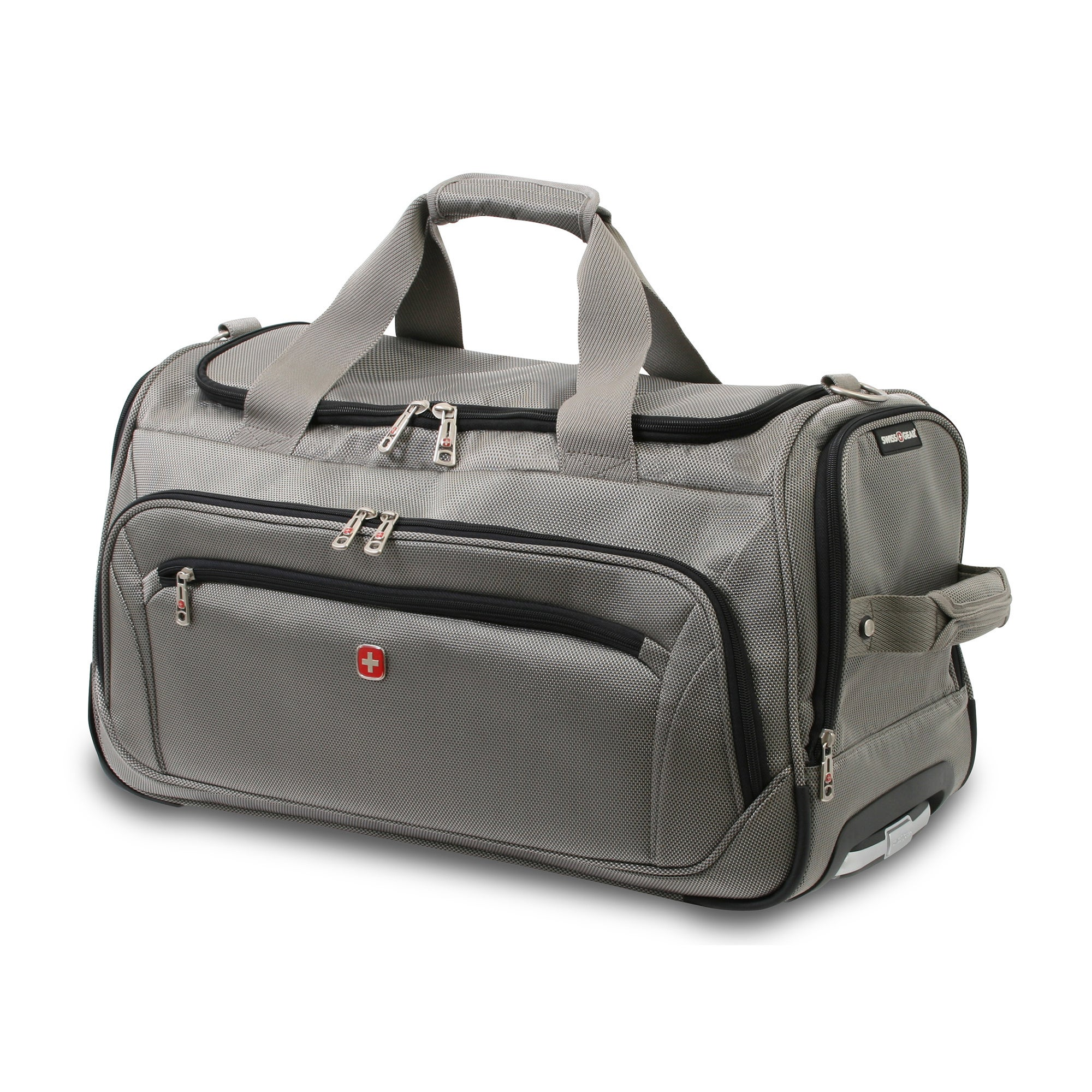 f8c0947229a Shop Wenger Swiss Gear Zurich 22-inch Wheeled Lightweight Carry-on Duffle  Bag - Free Shipping Today - Overstock.com - 8891230