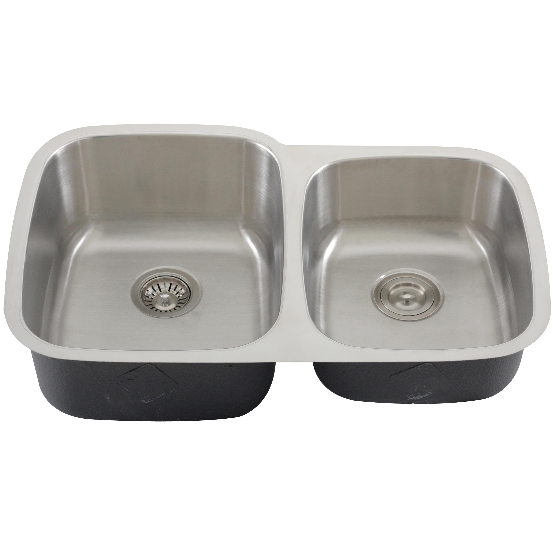 Phoenix 32 inch Stainless Steel Undermount Kitchen Sink Free