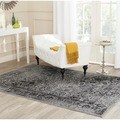 Safavieh Adirondack Vintage Distressed Grey / Black Rug (3' x 5')