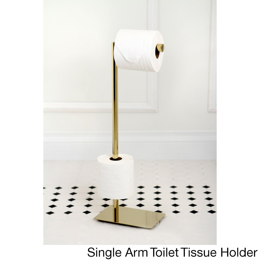 Shop Modern Polished Brass Freestanding Bathroom Accessories - Free ...