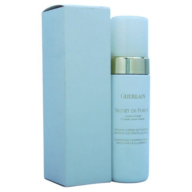 Shop Guerlain Secret De Purete 5 Ounce Cleansing Foaming Cream