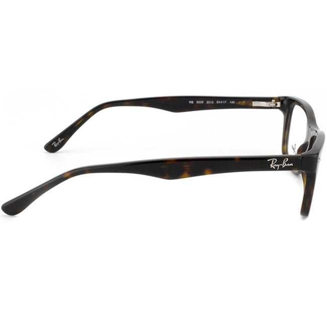 7a8910ebaa Shop Ray-Ban  RX 5228 2012  Womens Dark Havana Plastic Eyeglass Frames -  Free Shipping Today - Overstock - 8896423