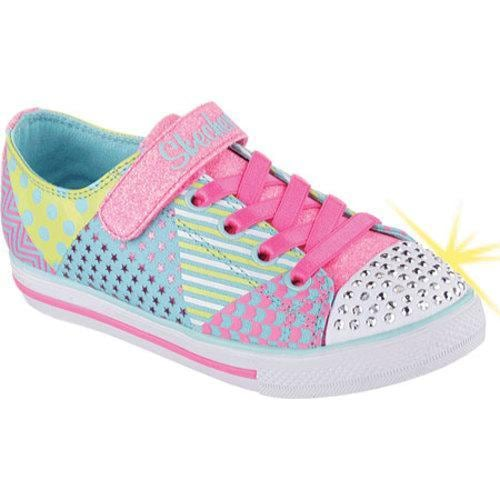 Shop Girls  Skechers Twinkle Toes Chit Chat Shimmy Shreds Light Up Shoe  Multi - Free Shipping On Orders Over  45 - - 10211916 4424bfe6dac3