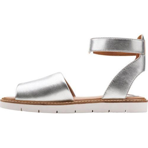 ec2221530b0 Shop Women s Clarks Lydie Hala Silver Leather - Free Shipping Today ...