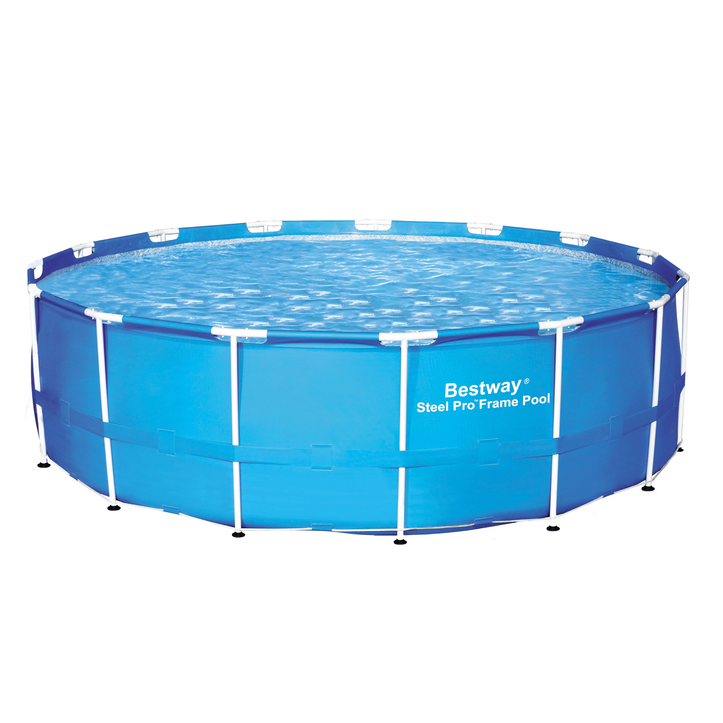 Shop Bestway Steel Frame Pool - Free Shipping Today - Overstock.com ...