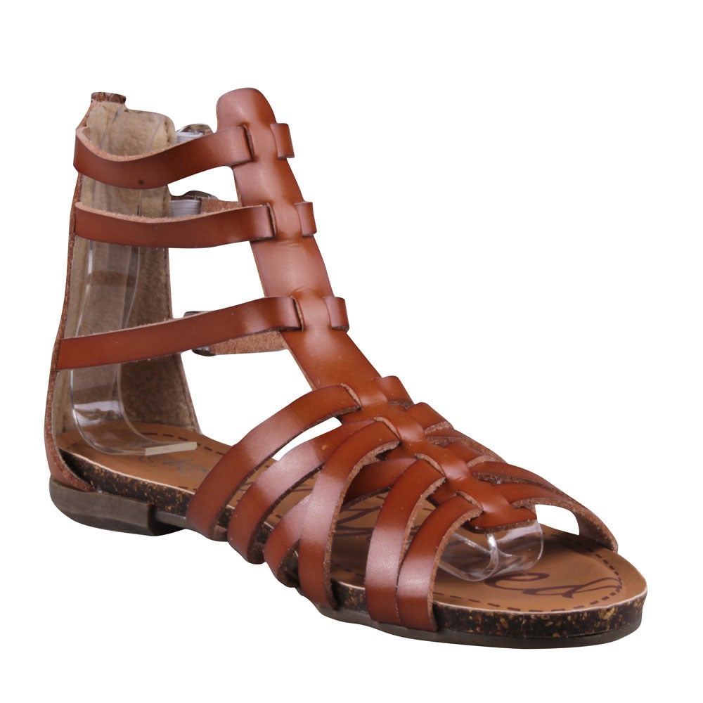 17ced3e32dd9 Shop Refresh Women s  Lisa-04  Buckled Cage Gladiator Sandals - Free ...