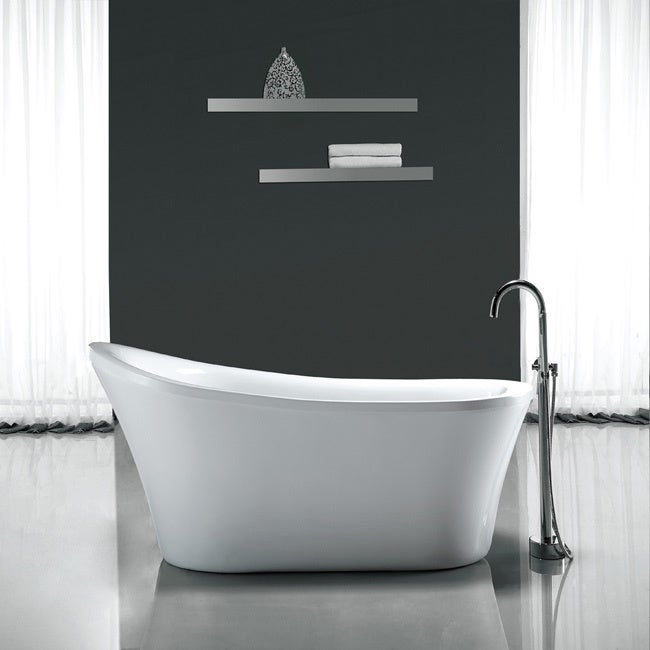 Shop Ove Decors Rachel 70 Inch Freestanding Bathtub Free Shipping