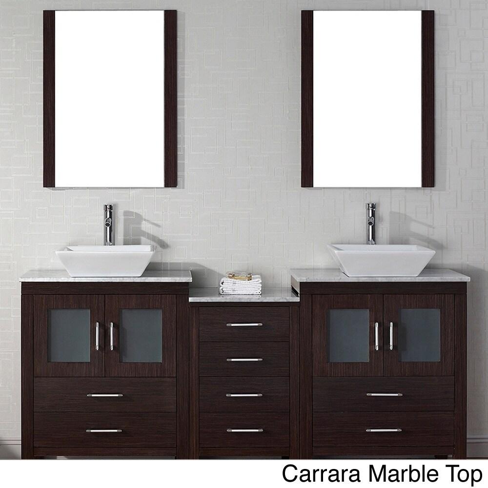 66 inch bathroom vanity. Virtu USA Dior 66 Inch Double Sink Vanity Set In Espresso - Free Shipping Today Overstock 16129147 Bathroom O