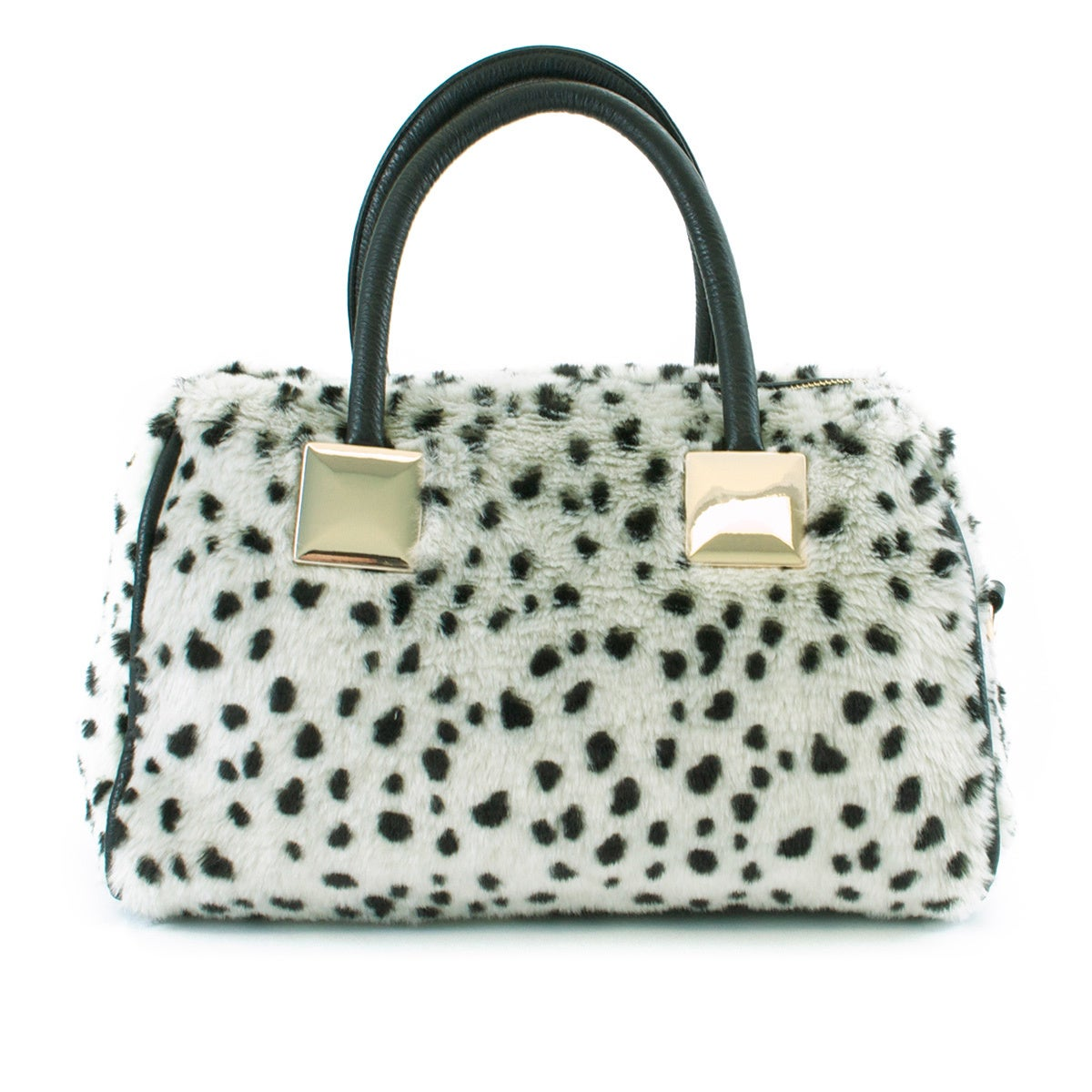 8ab419acee Shop Adrienne Landau Snow Leopard Satchel - Free Shipping Today - Overstock  - 8911380