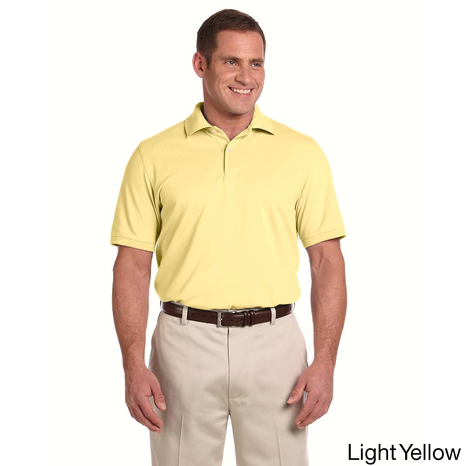 Sporting Goods Supply Ashworth Herren Poloshirt At Any Cost Golf