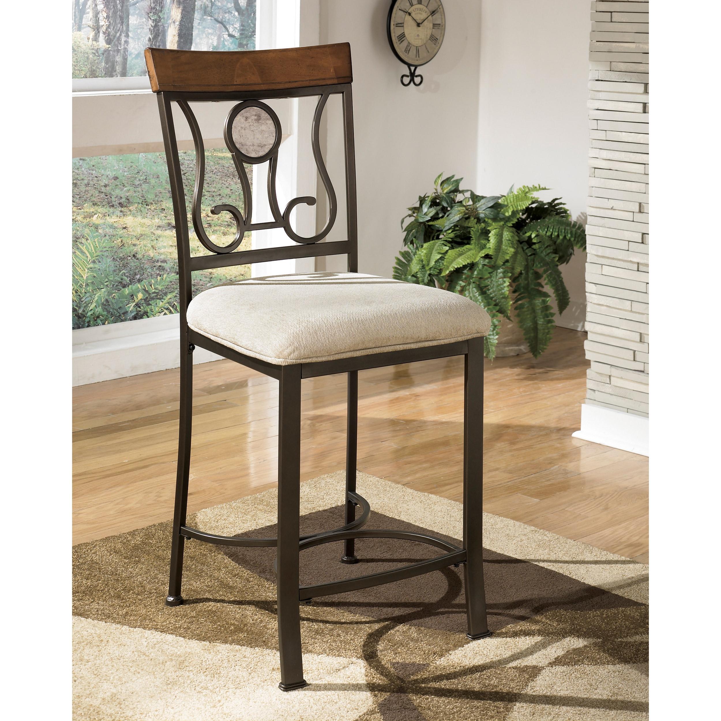 stools large view shelter stool backless of brown set bar cushion image rectangular rectangle