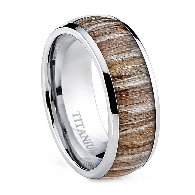 fiber rings jewelry centered edge collections twill custom designs silver large carbon bentwood with wood ring rosewood