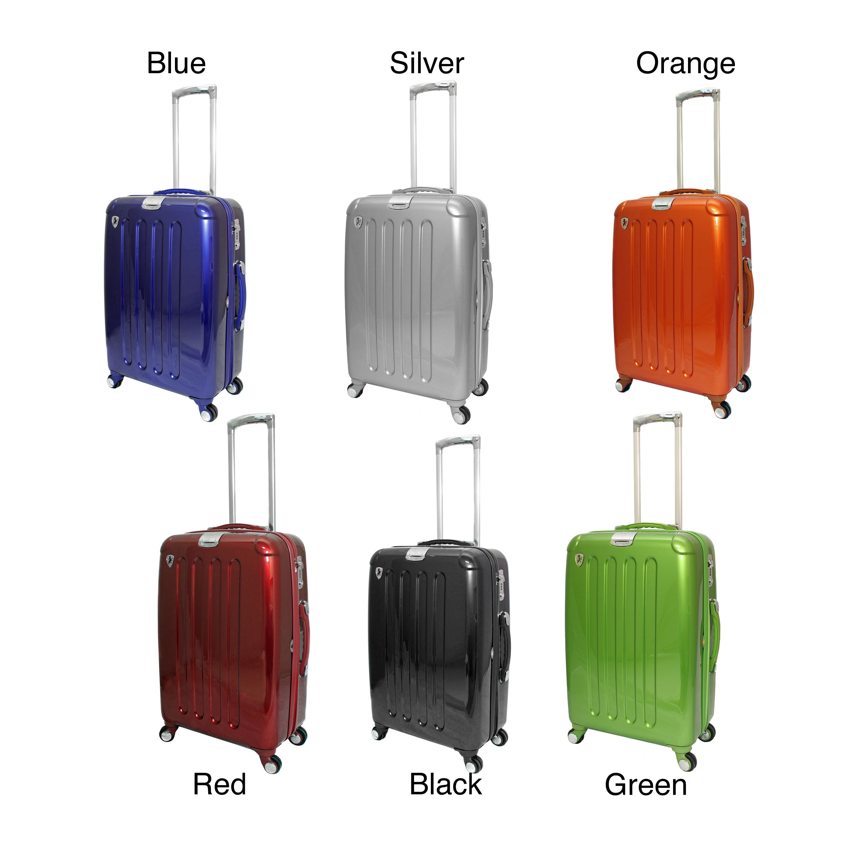 26 /& 21 Leo by Heys 30 HX9 Hard Side Spinner Luggage 3pc Set