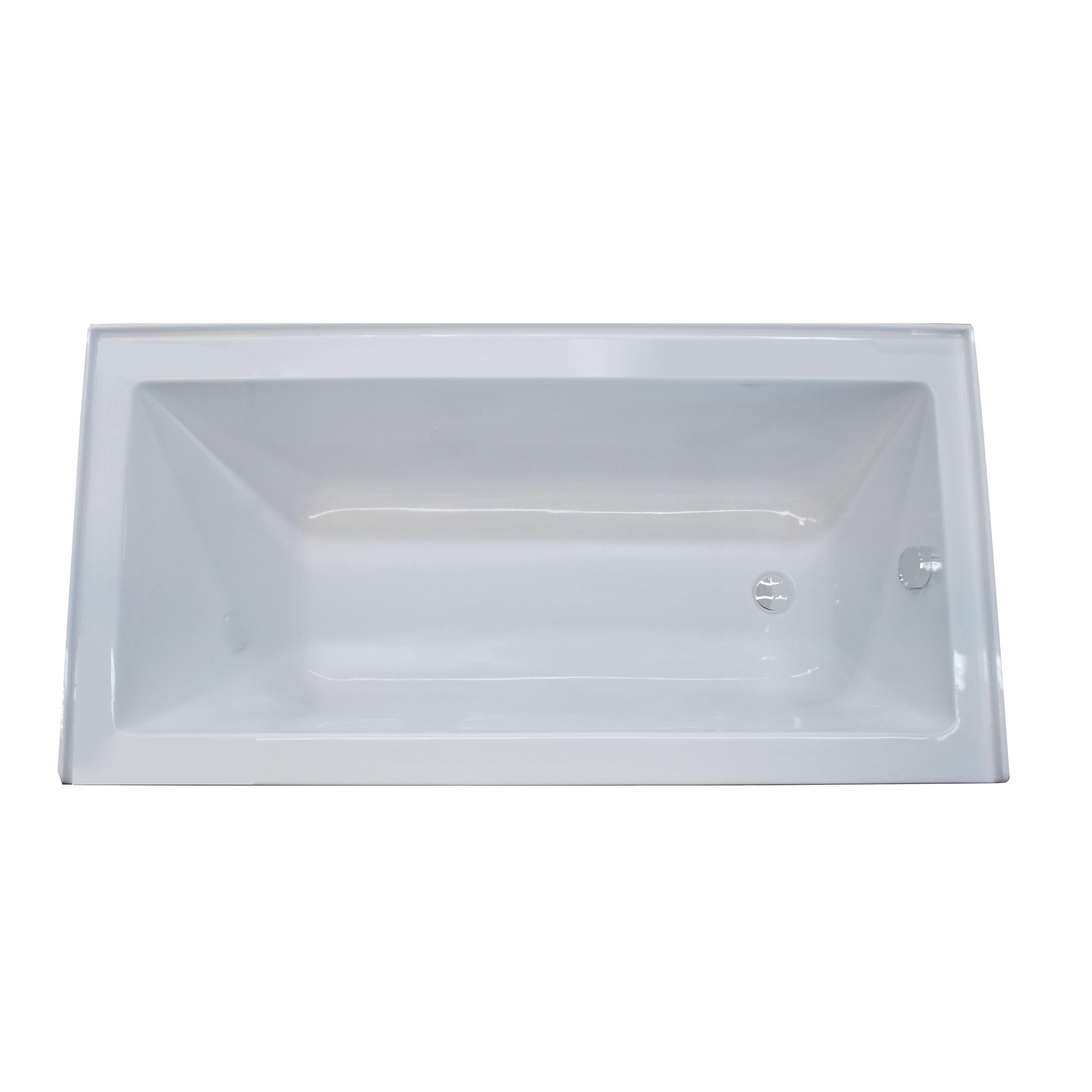 Atlantis Whirlpools Soho 30 x 60 Front Skirted Tub in White - Free ...
