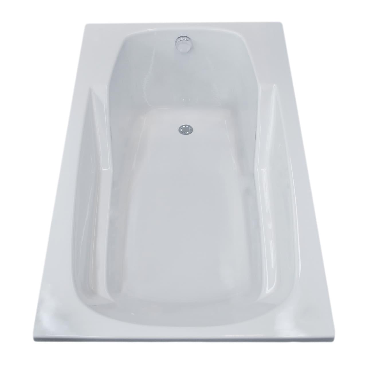 Atlantis Whirlpools Eros 36 x 60 Rectangular Soaking Bathtub in ...