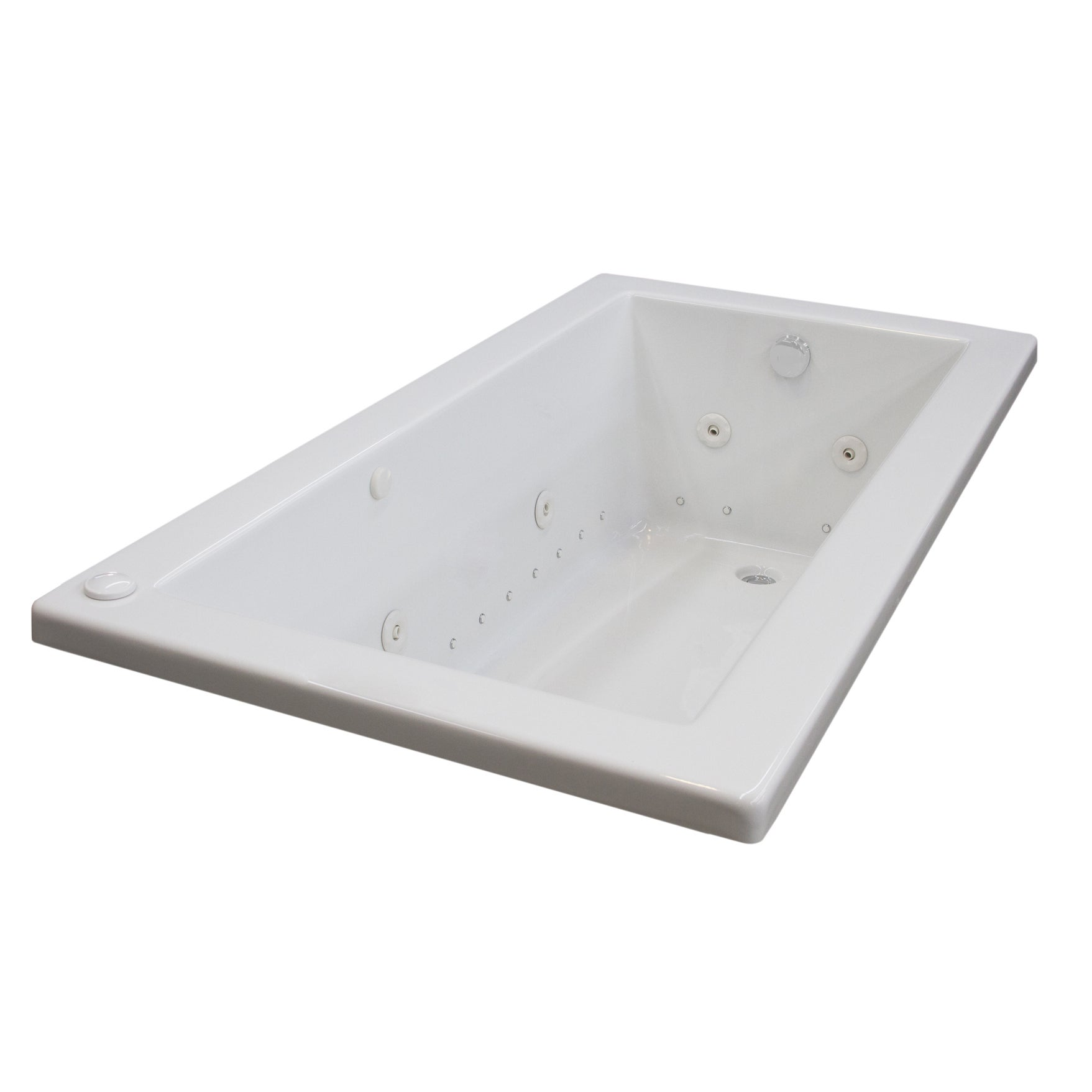 Atlantis Whirlpools Venetian 30 X 60 Rectangular Air U0026 Whirlpool Jetted  Bathtub In White   Free Shipping Today   Overstock.com   16145529