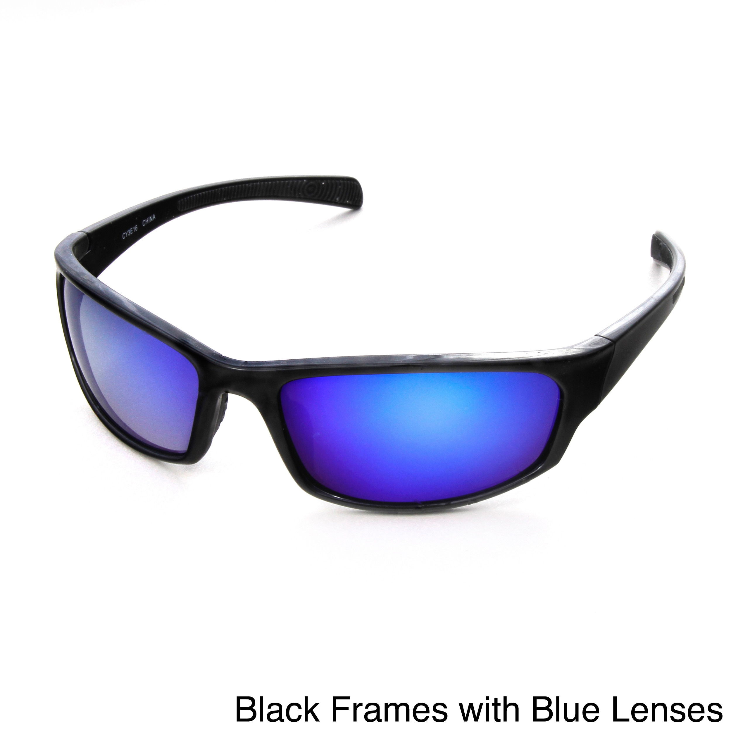 22bdb8ba53 Shop Hot Optix Men s Mirrored Polarized Sunglasses - Free Shipping On  Orders Over  45 - Overstock - 8930379