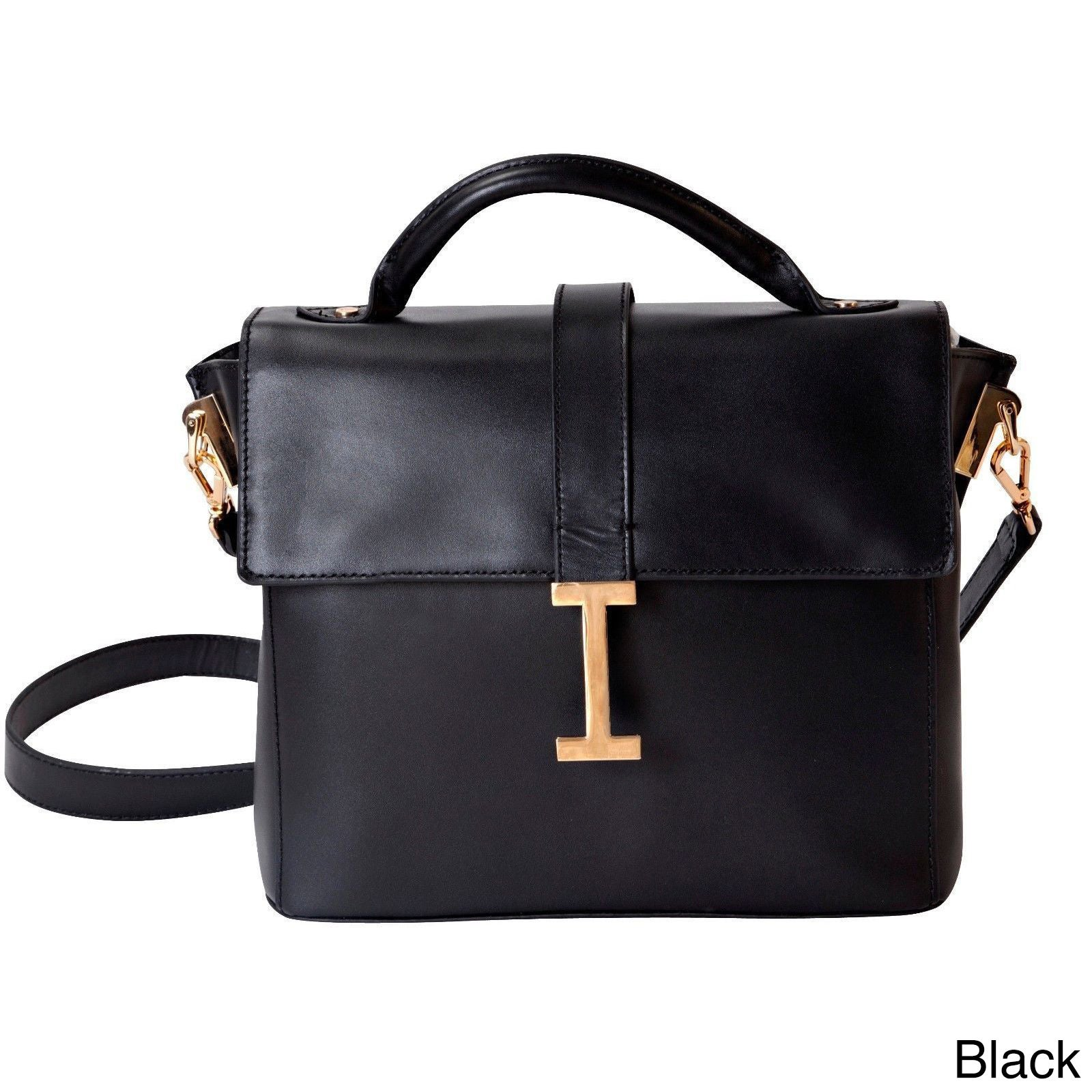 Isaac Mizrahi Liz Removable Tech Compartment Genuine Leather Satchel Handbag On Free Shipping Today 8930404