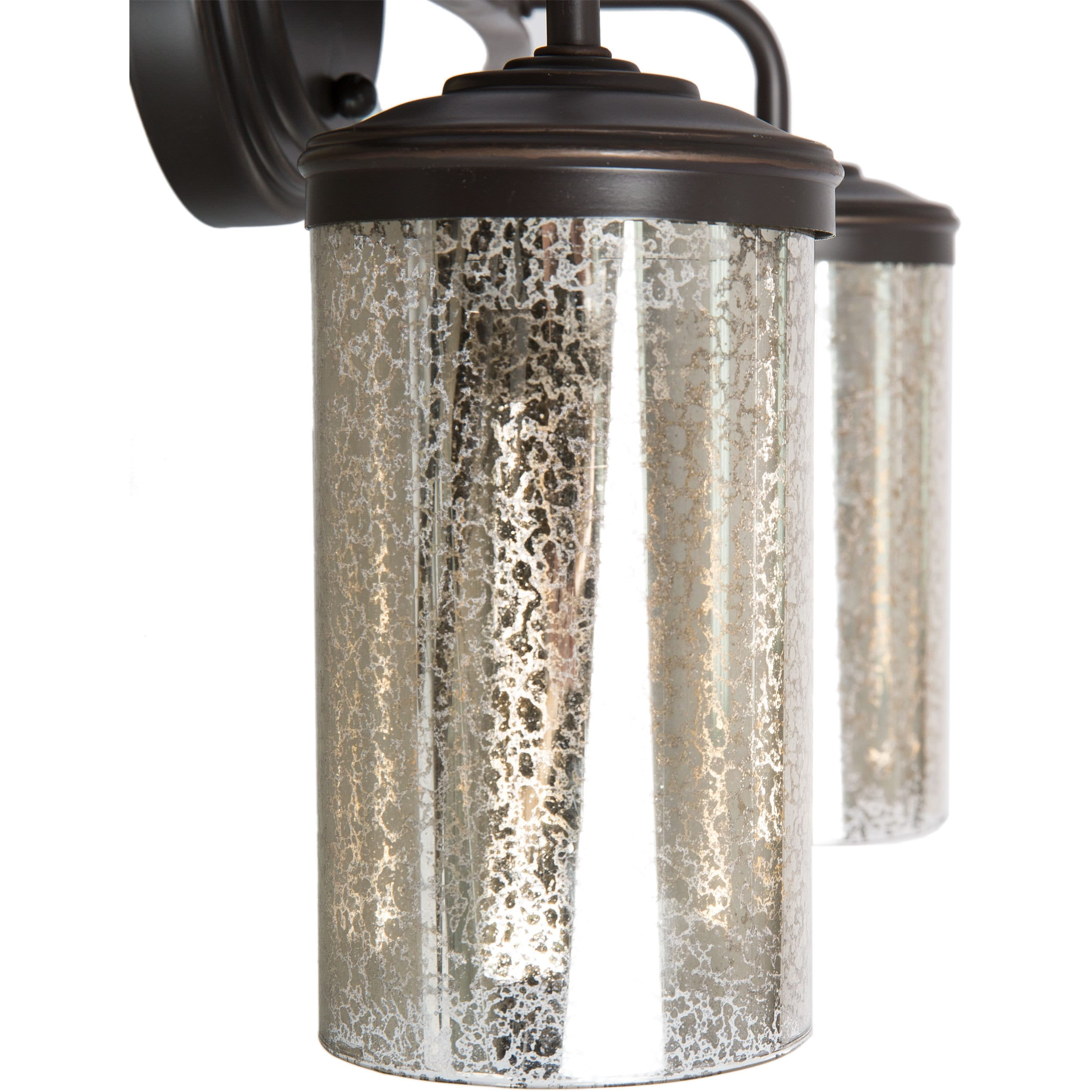 rubbed glass pin triangle oil bronze pan with mercury hammered fixture in light fixtures