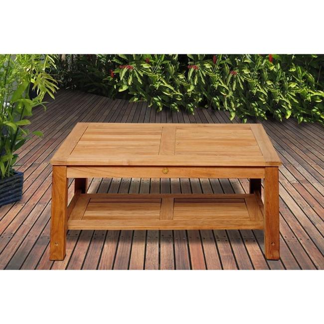 Ia Teak San Francisco Wood Coffee Table