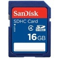 SanDisk 16GB Class 4 SDHC Flash Memory Card