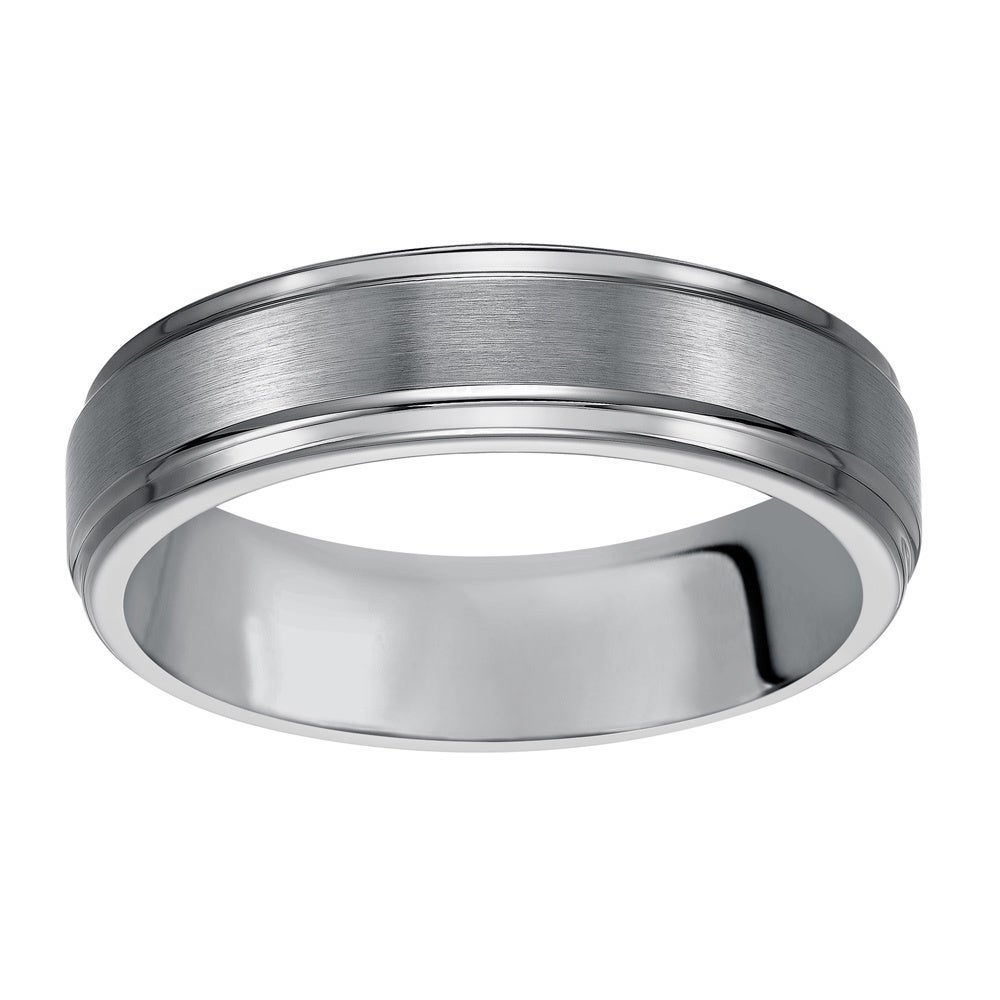 men band silver dublin ring mens flat court bands platinum wedding campbell s jewellers matte palladium products