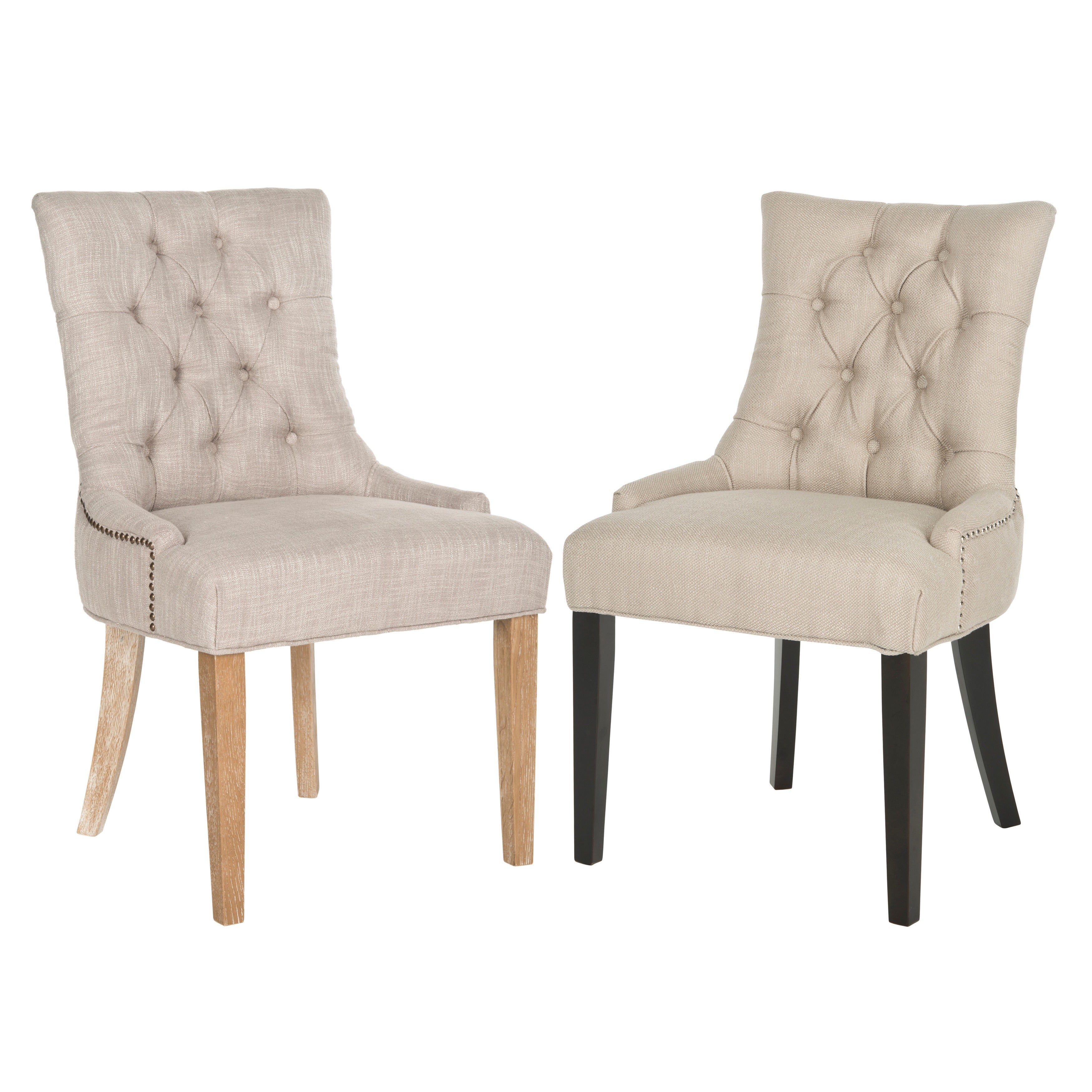 Shop safavieh en vogue dining abby viscose blend dining chairs set of 2 on sale free shipping today overstock com 8948024