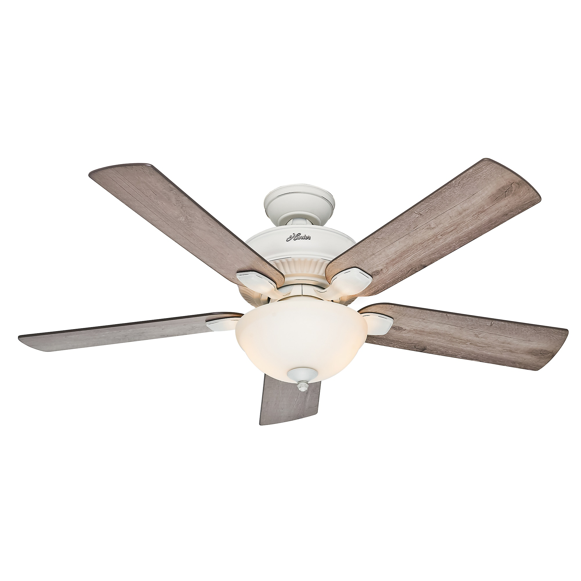 """Hunter 52"""" Matheston Ceiling Fan Free Shipping Today Overstock"""