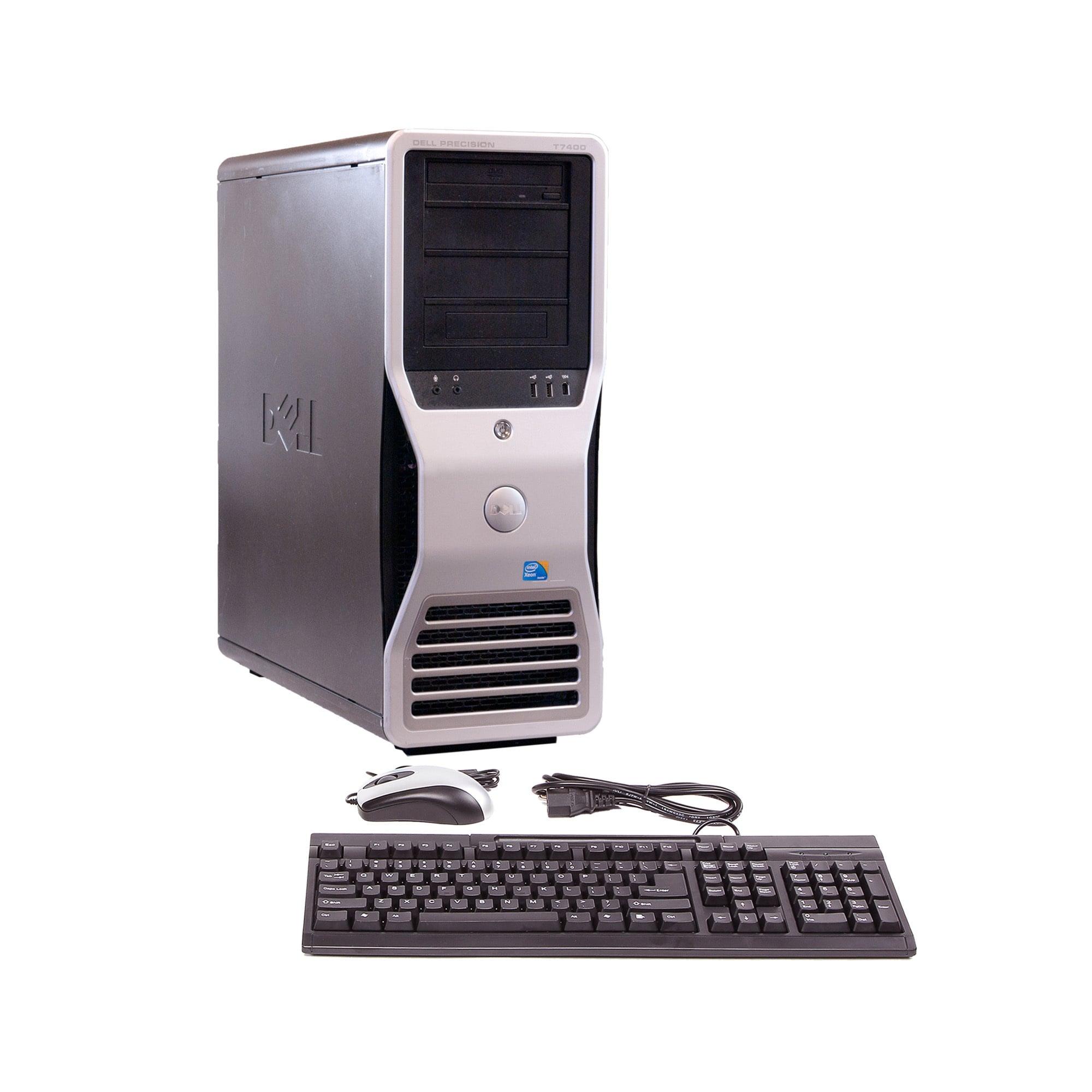 Dell Precision T7400 Intel Quad Core Xeon 2 66GHz CPU 8GB RAM 1TB HDD  Windows 10 Pro Minitower Compu