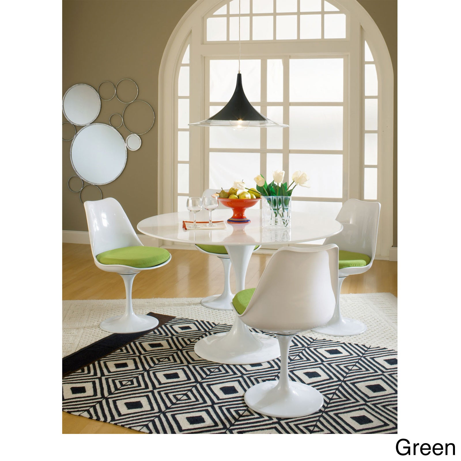 Shop lippa dining chairs set of 4 free shipping today overstock com 8950232