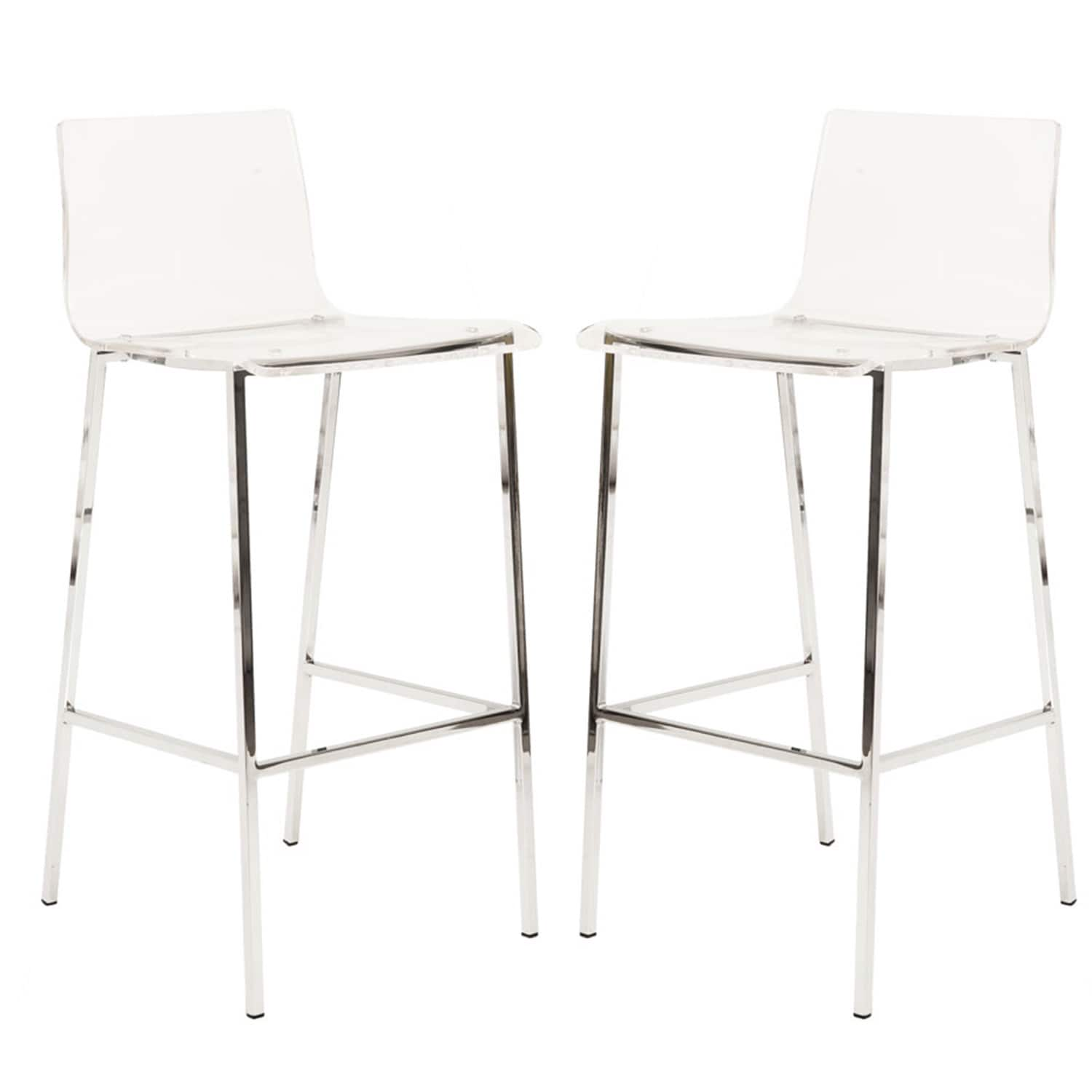 Ordinaire Shop Oliver U0026 James Alexander Clear Acrylic Counter Stool (Set Of 2)   On  Sale   Free Shipping Today   Overstock.com   20132369