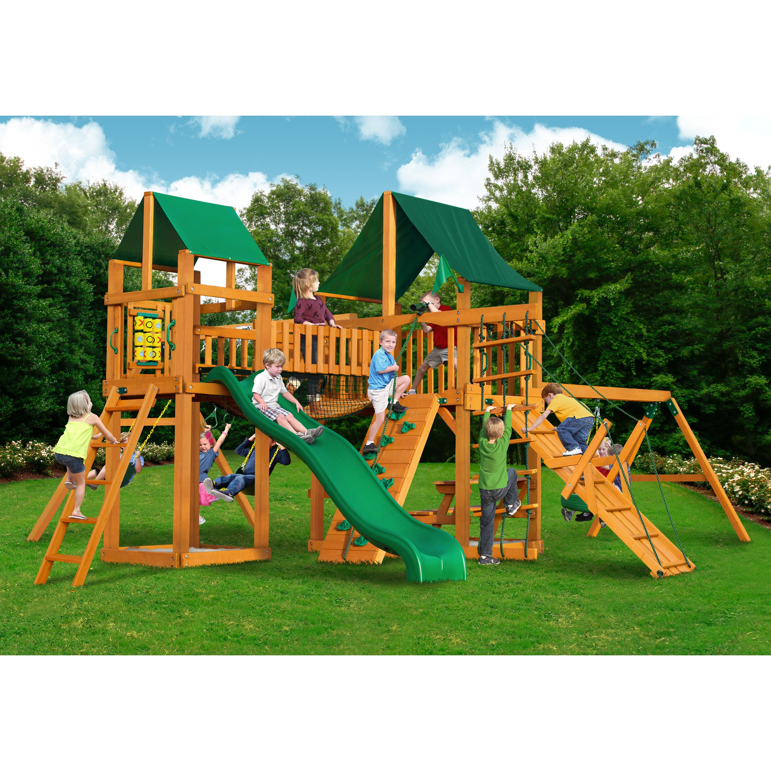 Gorilla Playsets Pioneer Peak AP Playset - Free Shipping Today -  Overstock.com - 16170446