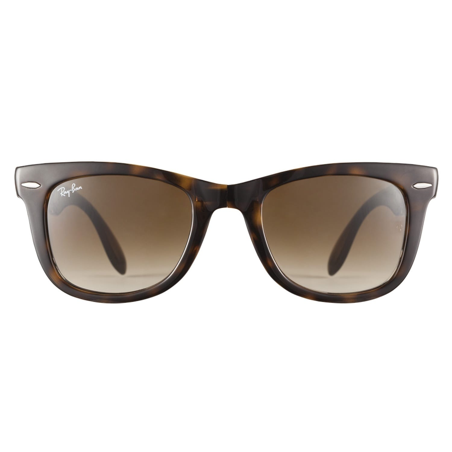 63f51803dd7 Shop Ray-Ban RB4105 710 51 Folding Wayfarer Tortoise 50 Sunglasses - Free  Shipping Today - Overstock.com - 8962129