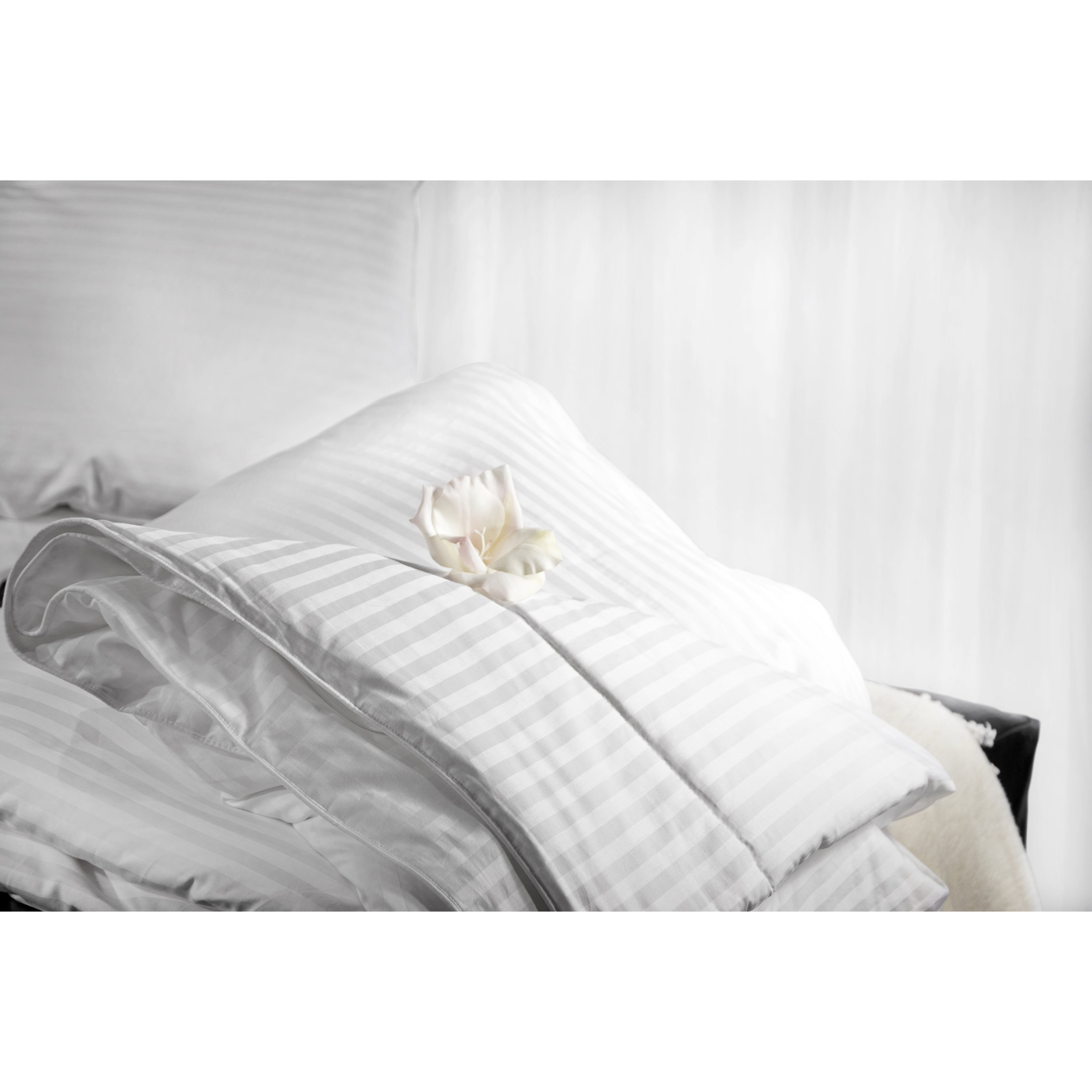 linen silk linens blue bed high mulberry from quality comforter