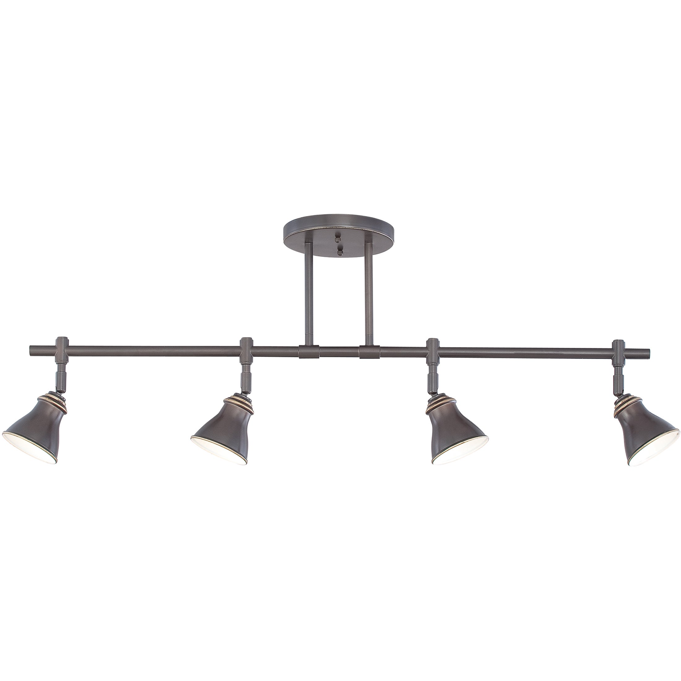 Quoize Denning 4 Light Palladian Bronze Finish Fixed Track Free Shipping Today 8965324