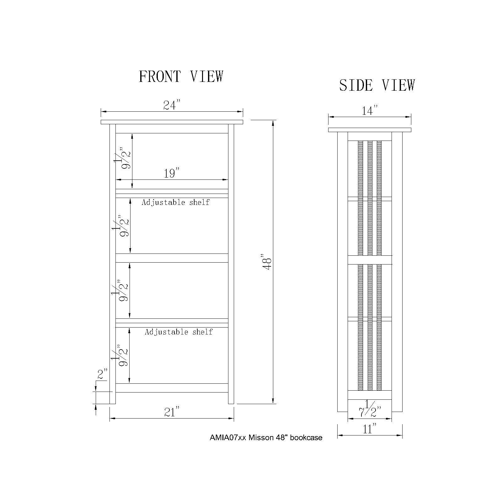 bookcase schematic wiring diagram