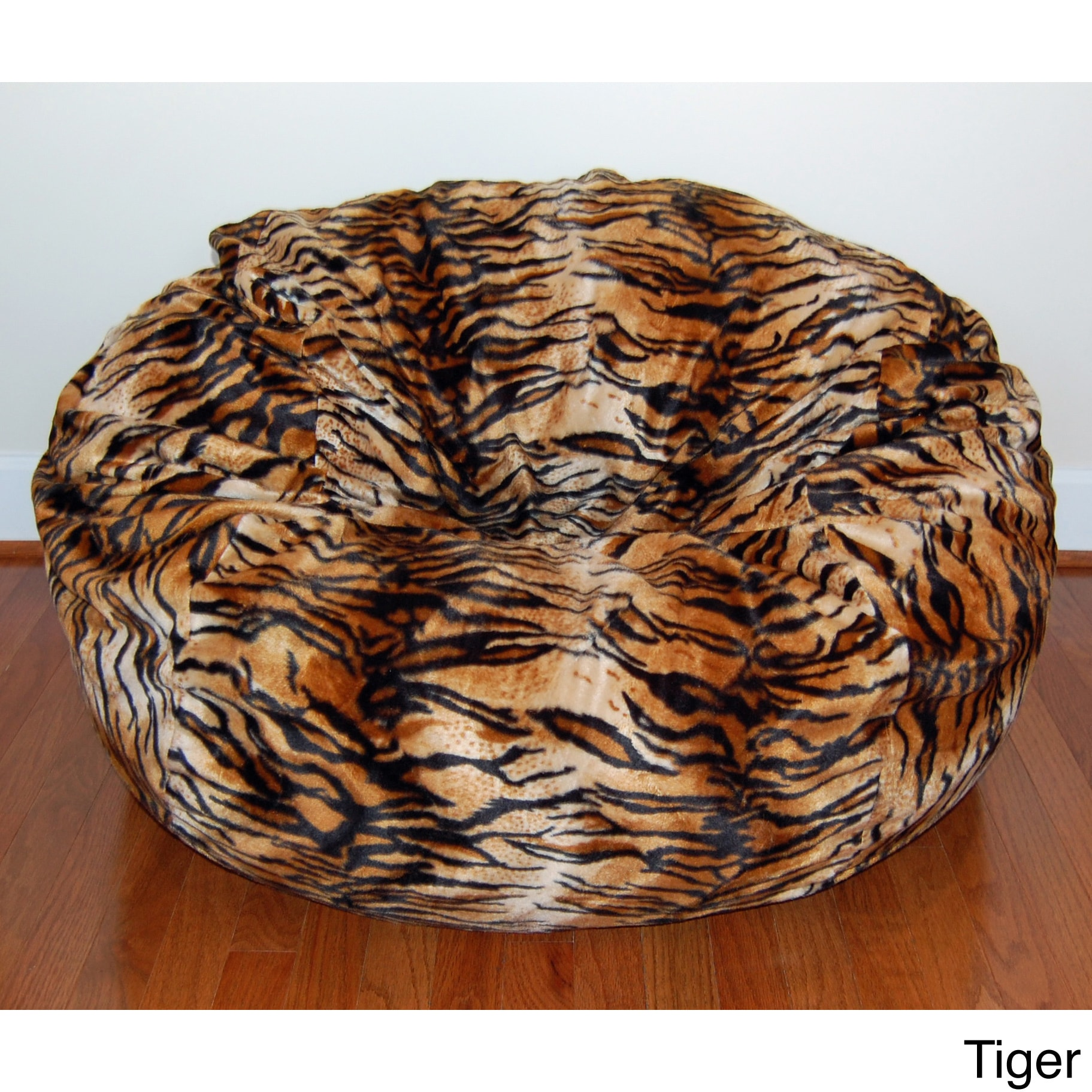 Faux Animal Fur Washable 36 Inch Bean Bag Chair Free Shipping Today 8968212