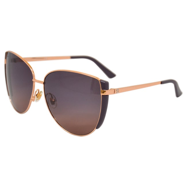 6b8835c6955 Shop Gucci Women s  GG 2908 S DDB  Gold Copper Aviator Sunglasses - Free  Shipping Today - Overstock - 8968796