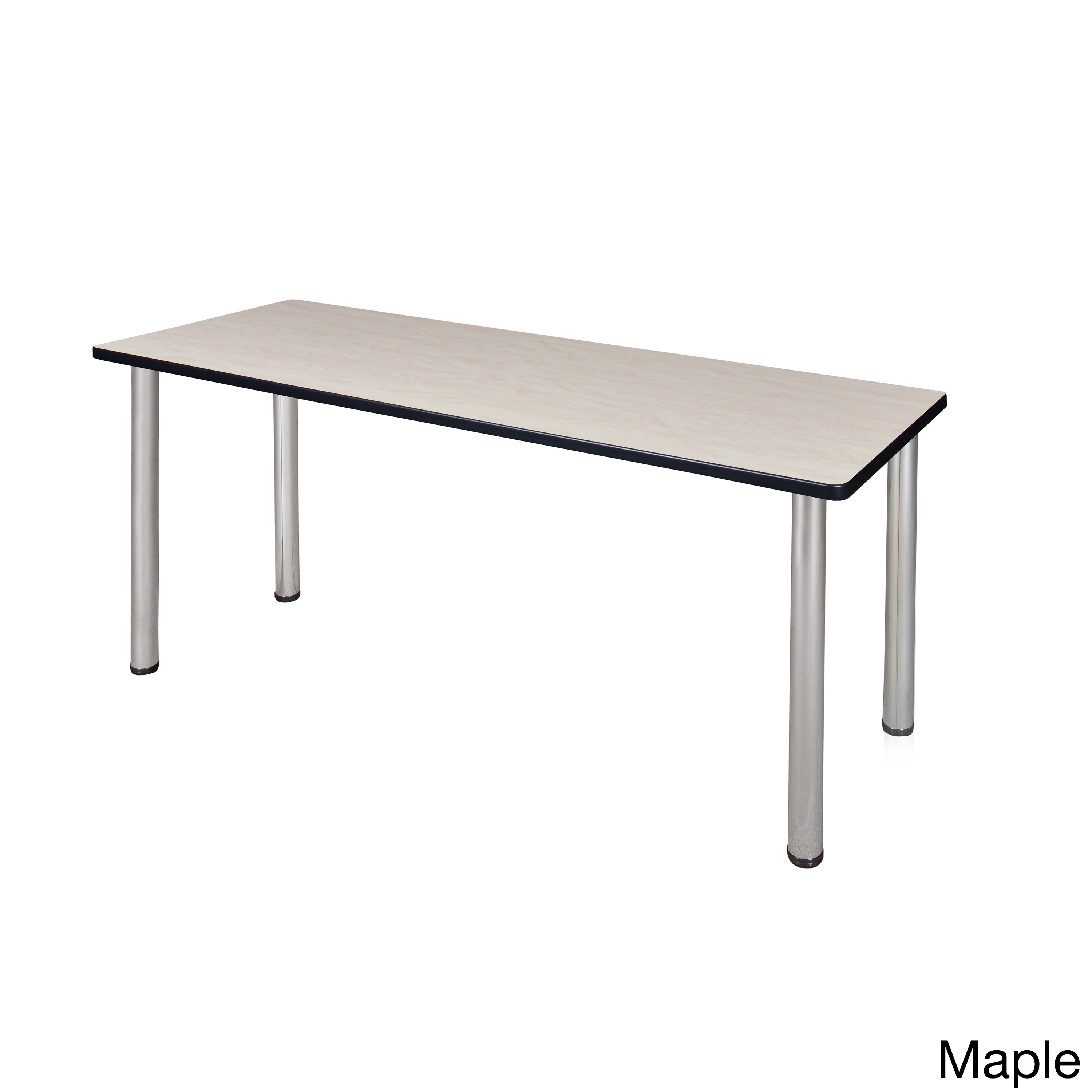 Shop Inch Kee Training Table Chrome Legs Free Shipping Today - Ofm training table