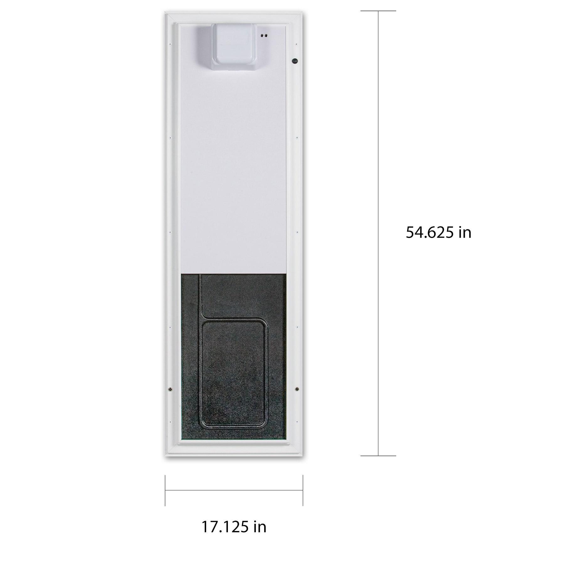 Shop Plexidor Electronic Pet Door Large Wall Mount Free Shipping